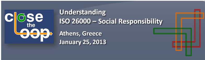 "Training ""Understanding ISO26000-Social Responsibility"""