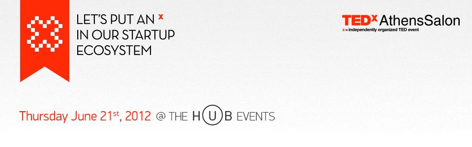 TEDxAthensSalon: WebStartups
